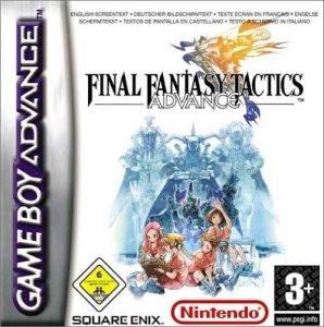 Jaquette Final Fantasy Tactics Advance PAL