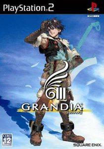 Grandia III: Jaquette japonaise du jeu