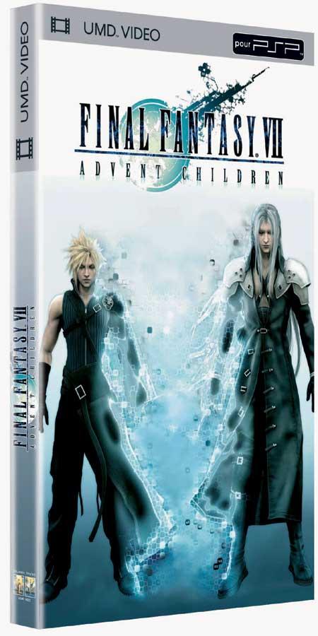 FFVII Advent Children: UMD, DVD et double DVD