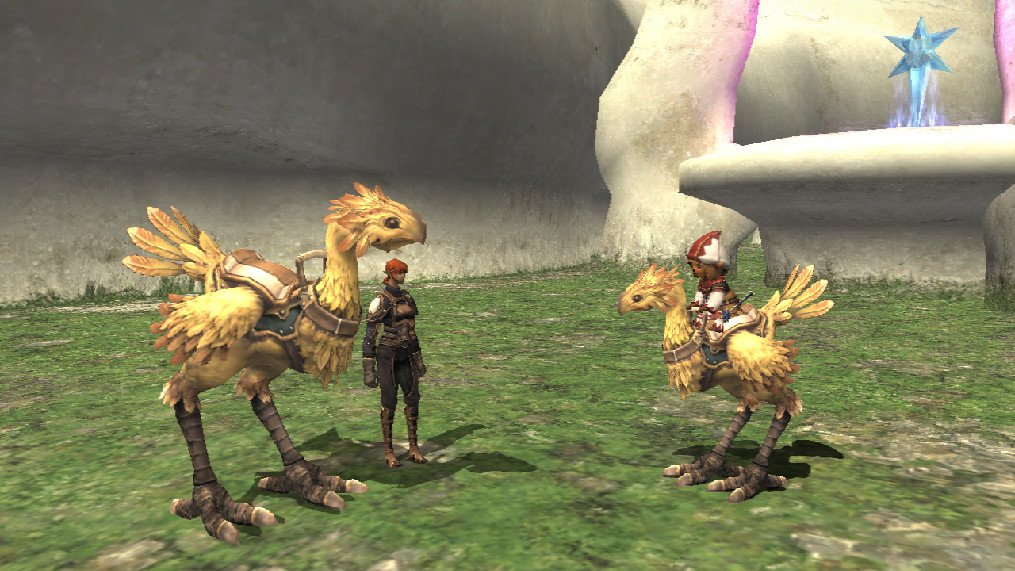 Final Fantasy XI distribué par Ubisoft
