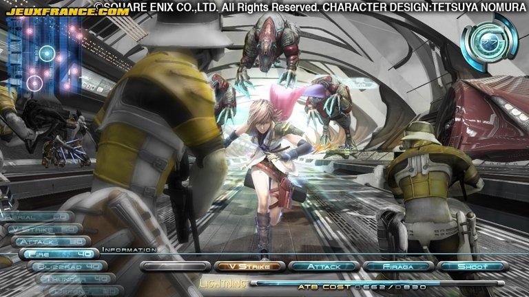Final Fantasy XIII: quelques précisions et 2 scans
