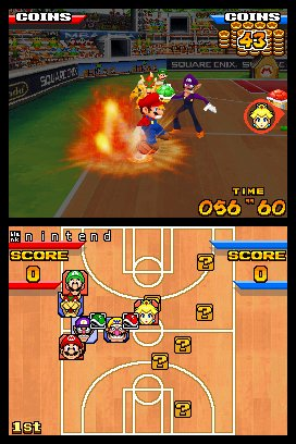 Mario Hoops 3-on-3: images et infos