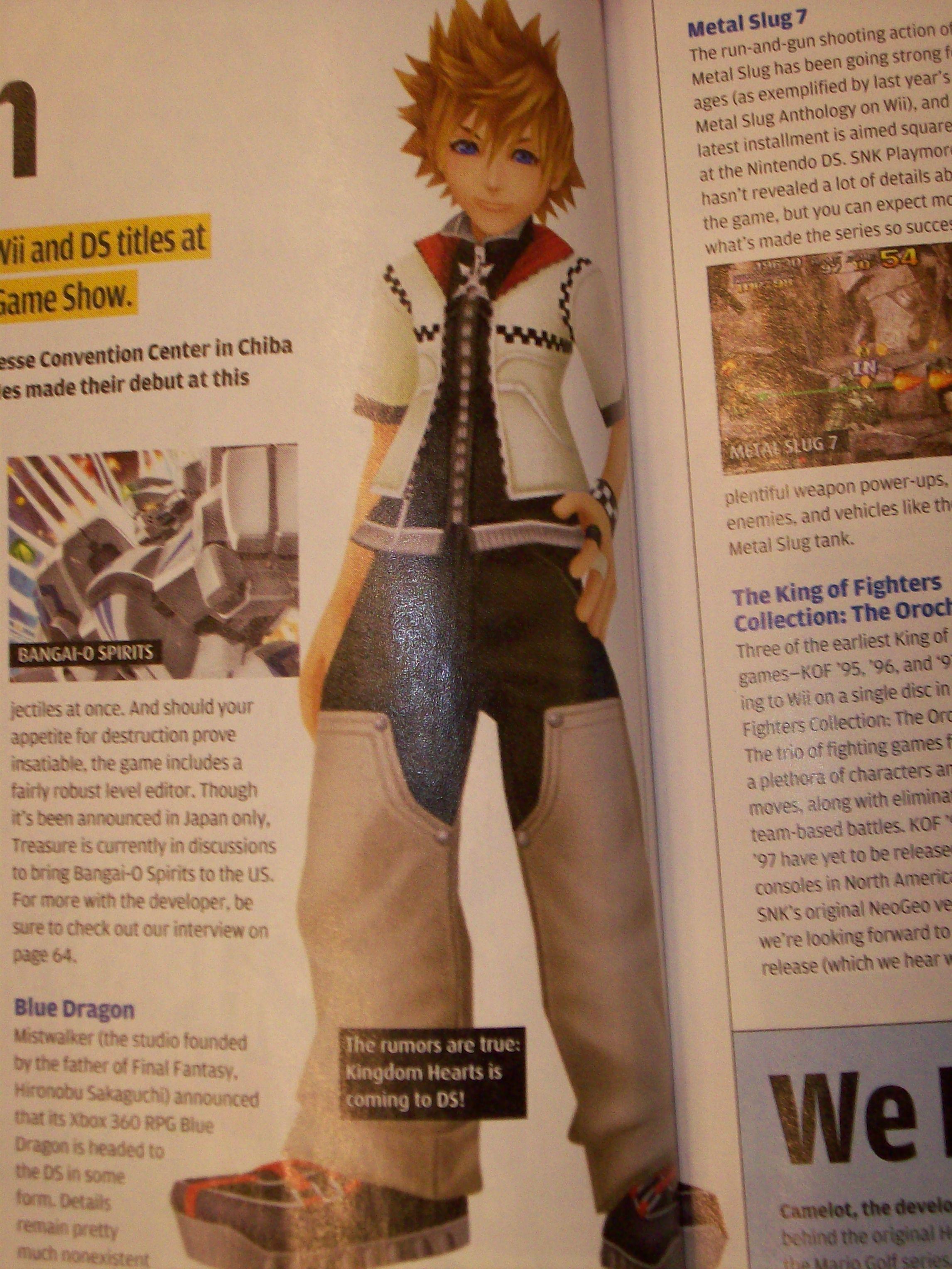Deux scans pour Kingdom Hearts: 358/2 Days
