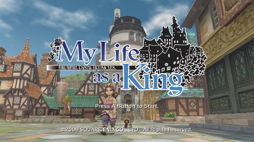 Final Fantasy Crystal Chronicles: My Life as a King dispo!