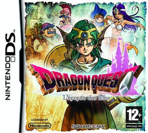 Les premières images de Dragon Quest: L'épopée des Elus