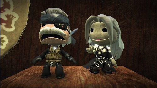 INSOLITE: Sephiroth dans Little Big Planet (PS3)!