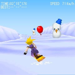 Square Enix annonce Final Fantasy VII Snowboarding