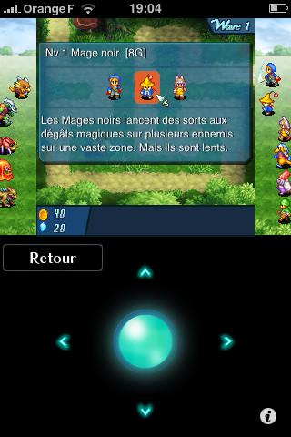 Final Fantasy Crystal Defenders disponible sur iPhone