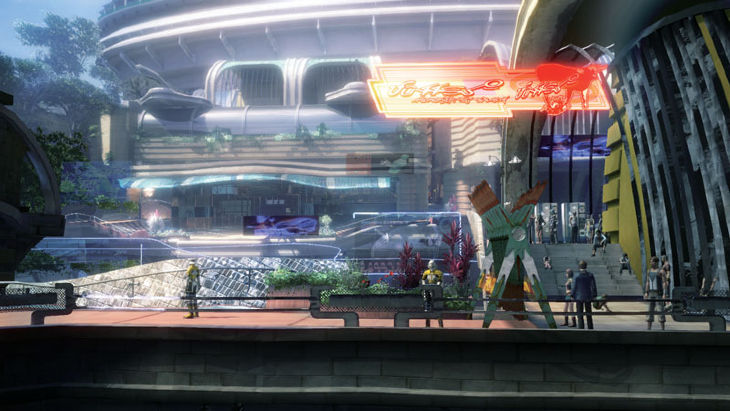 FFXIII: Quelques nouveaux screens