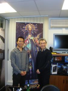 ITAhana and Kawazu in paris 2009.JPG