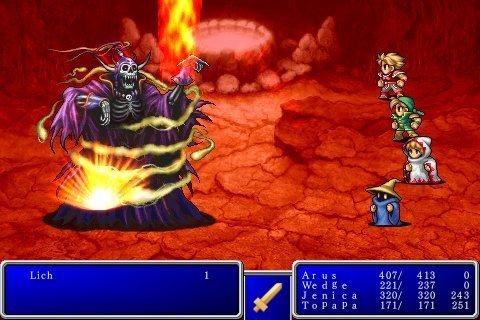 Final Fantasy I&II prochainement disponible sur iPhone