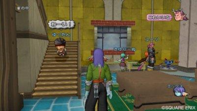 De nouvelles images pour Dragon Quest X!