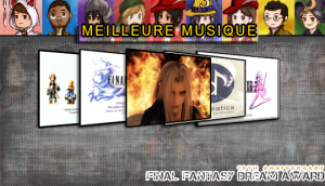You're not alone, One Winged Angel, Somnus ou d'autres?