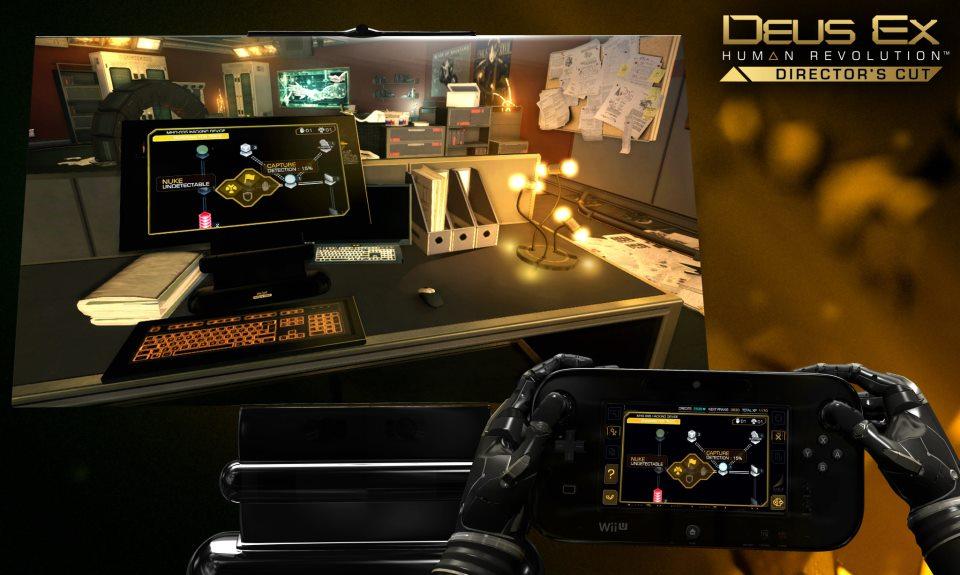 Deus Ex: Human Revolution Director's Cut sur Wii U!