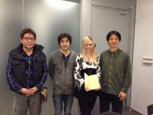 Isamu Kamikokuryou, Motomu Toriyama, Diane Perrin et Yoshinori Kitase