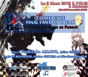 La conférence Final Fantasy en visionnage intégral!