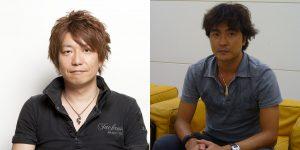 À gauche Naoki Yoshida et à droite Motomu Toriyama