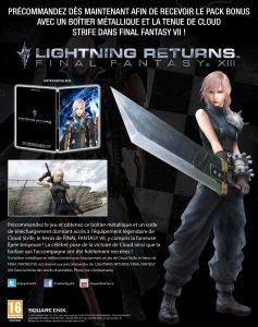 Le costume de Cloud pour Lightning, c'est nous!
