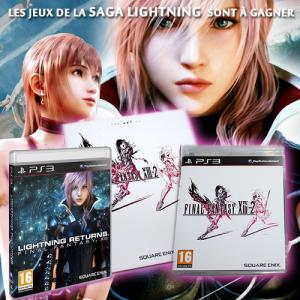 """Concours """"Saga Lightning"""", de nombreux lots à gagner!"""