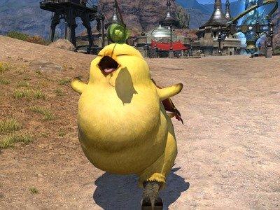 Le Gros Chocobo arrive dans FFXIV: A Realm Reborn