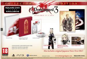 Drakengard 3: la version collector aussi pour l'Europe!