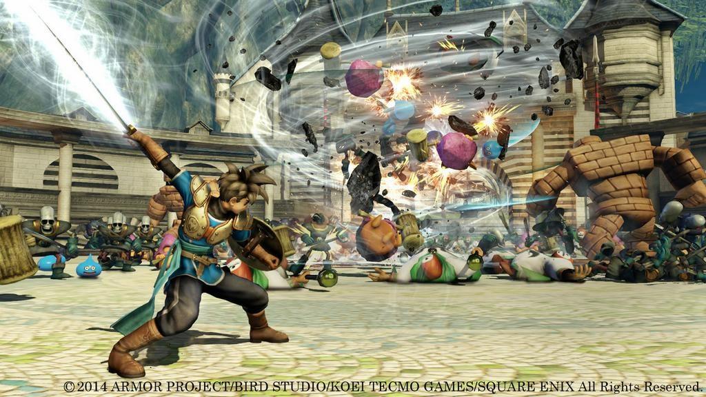 Dragon Quest Heroes (PS4/PS3) dévoilé par Sony