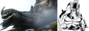 FF XV: Comparatif du bestiaire et des artworks d'Amano-san