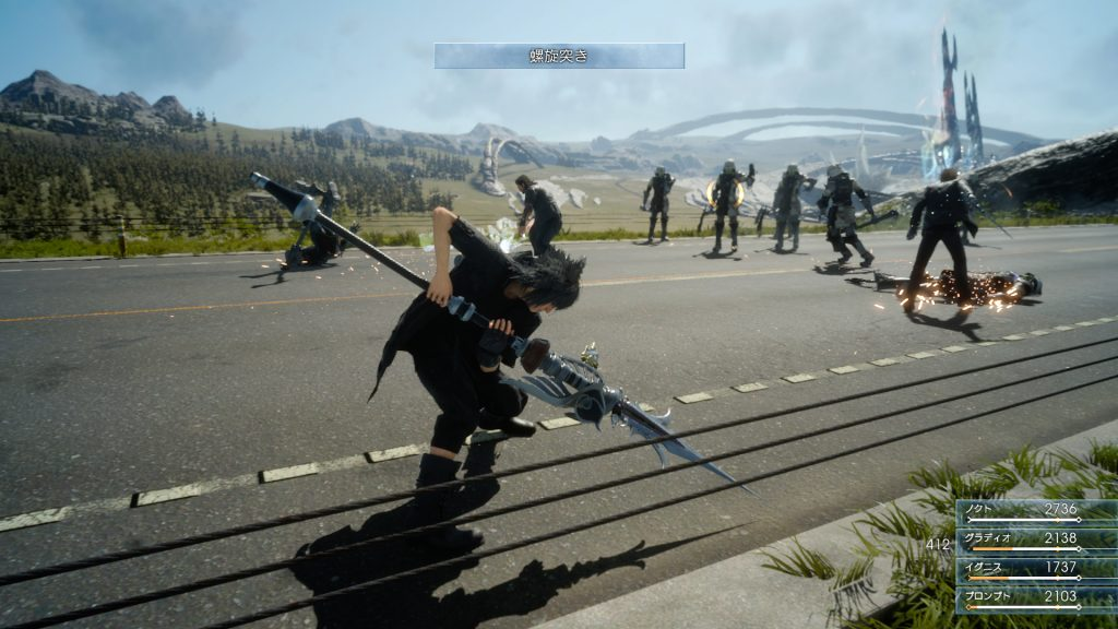 Final Fantasy XV illustre son système de combat