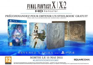 FF X|X-2 HD Remaster : La version PS4 datée