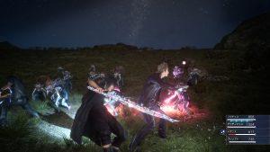 FF XV: Le système de combat encore à peine effleuré