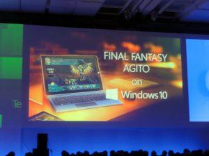 Final Fantasy Agito débarque sur Windows 10