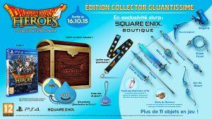 [MàJ] Dragon Quest Heroes: Une date et l'édition collector