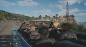Final Fantasy XV: Une virée en voiture princière grisante