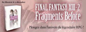 Résultats du concours Final Fantasy XIII-2 Fragments Before