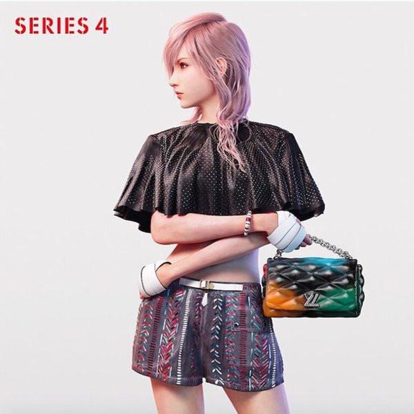 [MàJ] Insolite: Lightning prend la pose en Louis Vuitton