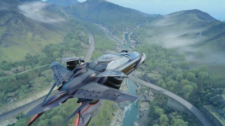 Final Fantasy XV: Découvrez le mode vol de Regalia