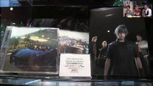 Final Fantasy XV: Un compte à rebours et de la musique