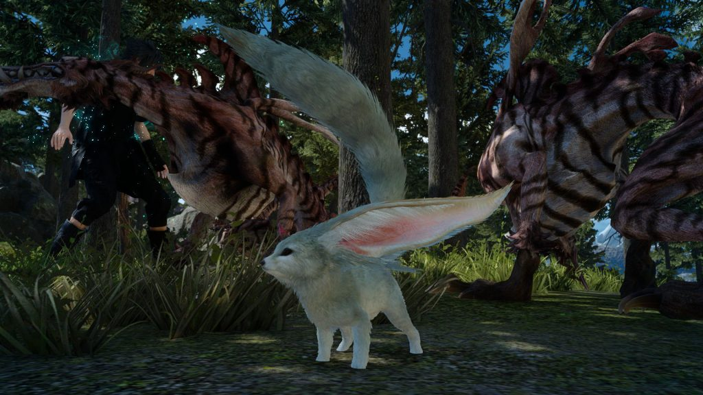 Final Fantasy XV : Carbuncle et les Moogles s'illustrent !
