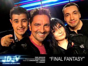 FFXV: Le patch Crown et émission Final Fantasy sur Canal +