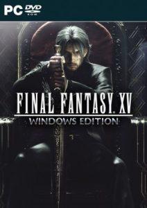 Jaquette Final Fantasy XV édition Windows
