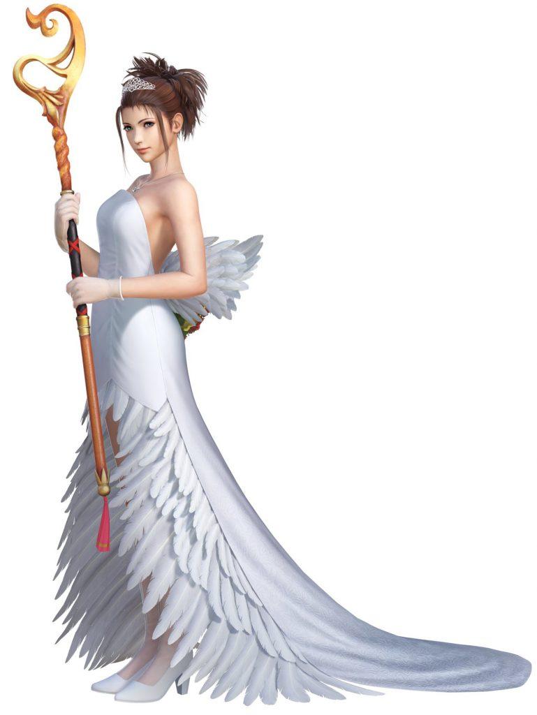 Tenue alternative de Yuna dans Dissidia NT : la robe de mariée.