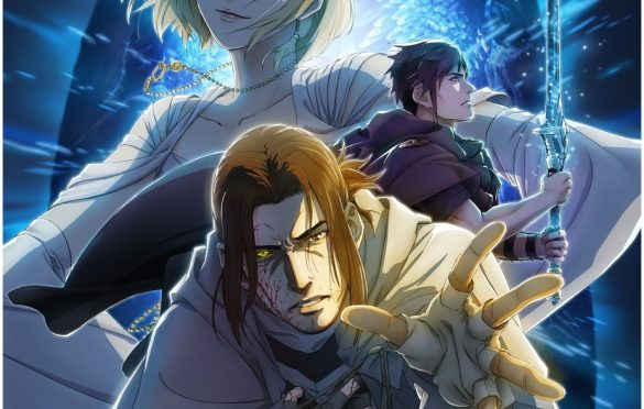 Illustration promotionnelle pour le dessin-animé Episode Ardyn Prologue. Illustration probablement de Shinichi Kurita