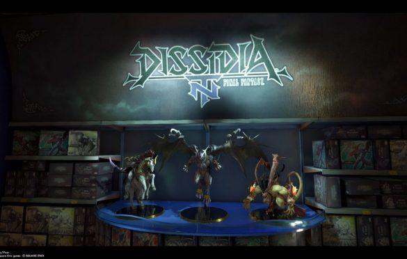 Dissidia NT s'offre dans le monde Toy Story une exposition remarquée à la sobriété efficace.