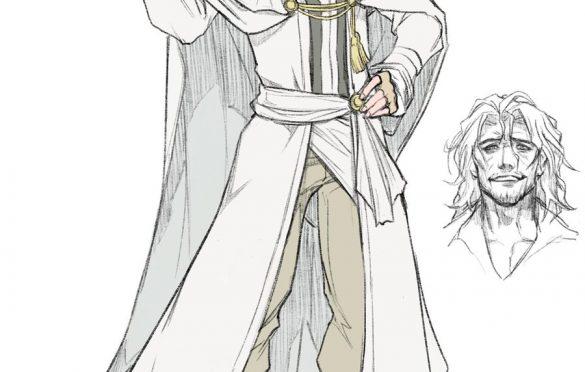 Illustration conceptuelle d'Ardyn dans Episode Ardyn Prologue
