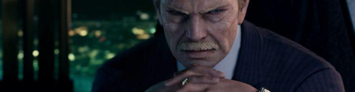 Président Shinra ingame FFVII Remake