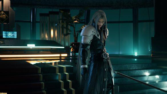 Serait-ce Sephiroth dans le bureau du Président ?