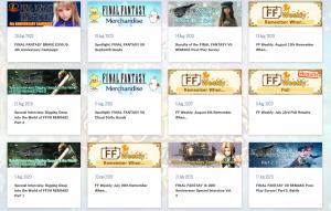 Sondage : Le portail Final Fantasy