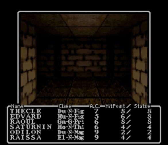 Wizardry est une série de Dungeon-crawler vous plaçant à la tête d'aventuriers explorant grottes et donjons