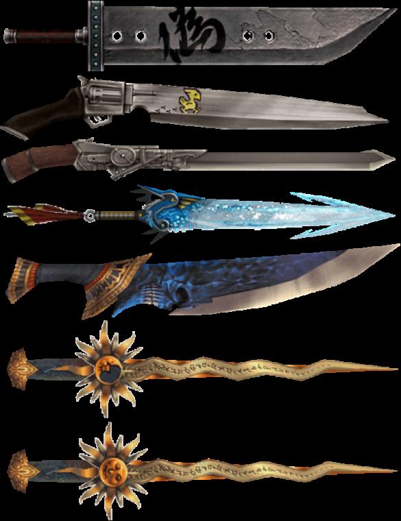 L'épée broyeuse n'est pas la seule arme venant d'un autre monde à être tombée entre les mains de Gilgamesh