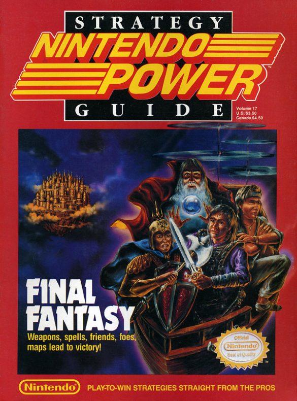 Le magazine Nintendo Power reprendra lui aussi le même style graphique que D&D